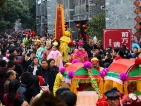 一夜成名万人宠 古城台儿庄春节旅游旺旺旺成山东旅游新名片