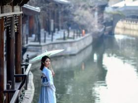 台儿庄古城最适合赏春拍照的打卡地,随手一拍就是文艺大片!