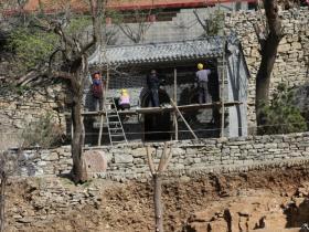 青州的胡林古村