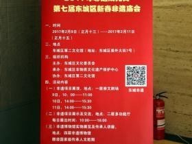 北京第7届市东城新春非遗庙会