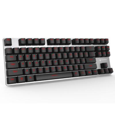 雷柏(Rapoo) V500合金版 游戏机械键盘 游戏键盘 电脑键盘 笔记本键盘 黑色 青轴