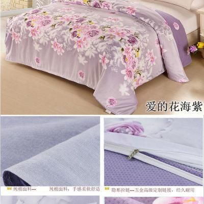 可布妮 被套 单纯棉被套全棉被套枕套单品被罩 春晓 枕套