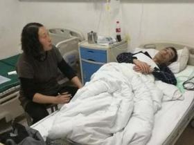 网红的哥被殴打住院