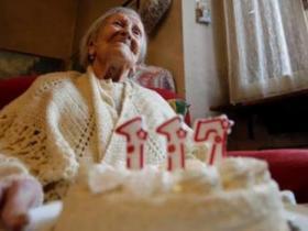 最长寿老人逝世.享寿117岁