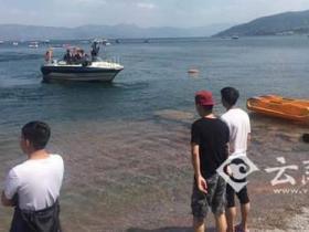 大学生在云南景区游泳溺亡