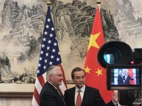美国新任国务卿访华