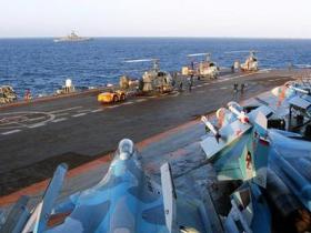 俄将斥巨资改装唯一航母.图