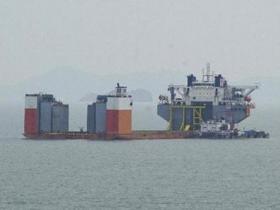 """韩国启动打捞""""岁月""""号沉船"""