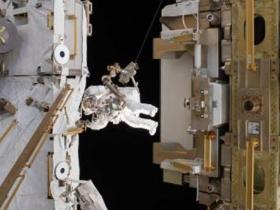 国际空间站宇航员太空走6小时
