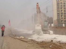 河南:超万平工程全天监控扬尘