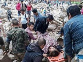 哥伦比亚泥石流造成154人遇难
