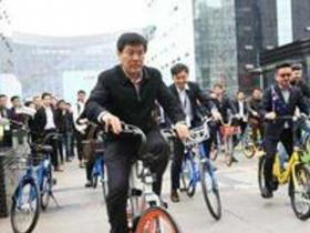 把共享单车当作自家的孩子