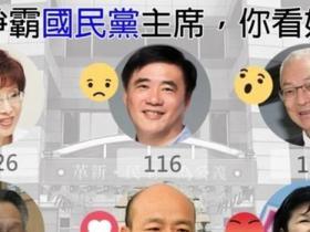 洪秀柱回应吴敦义选举领先