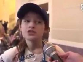 媒体曝光支持特朗普美国女孩