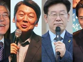 文在寅继续领跑韩国大选