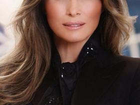 白宫发布第一夫人官方照
