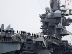 这次真来了!美航母战斗群抵韩 朝半岛变局再现?