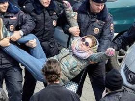 俄抓数百示威者遭美欧围攻