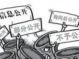 县级政府透明度6成得分不到60