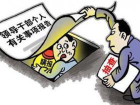 中纪委:有领导干部欺上瞒下