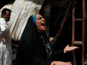 巴格达市场遭炸弹袭击致15死