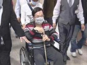 陈水扁保外就医忙于出席餐会