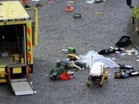 目击者称伦敦袭击者是亚洲人