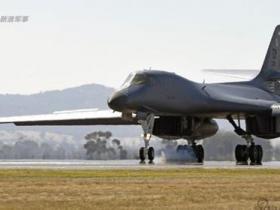 美军战略轰炸机现身朝鲜半岛