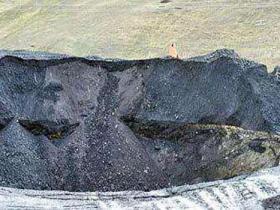 乌鲁木齐煤矿塌陷致7人被困