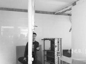 火锅店凿天花板排油烟