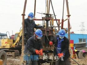 济枣高铁济南段打下节后复工第一钻,设支线延伸到台儿庄