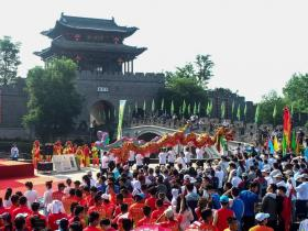 央视聚焦 | 台儿庄古城第三届中华端午文化节盛大开幕