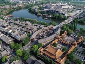 """""""走出去 迎进来"""":台儿庄古城成为境外游客休闲旅游目的地"""