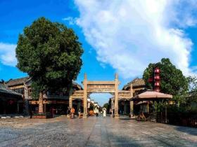 台儿庄古城大衙门街,成功跻身全省首批特色步行街十二强