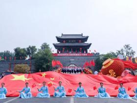 我和祖国共奋进 | 台儿庄古城向祖国深情表白
