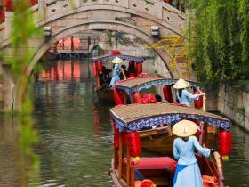 清明假期到台儿庄古城赏花、踏青、春游,好看的好玩的都在这里!