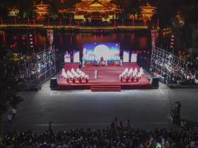 中秋假期三天:台儿庄古城共接待游客12.53万人次