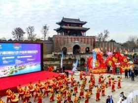 16国选手古运河畔尽展冬泳魅力 | 2020第六届中国大运河(台儿庄)国际冬泳节在台儿庄古城盛大开幕