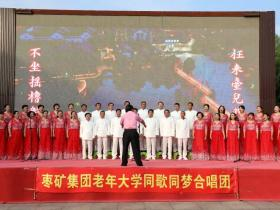 """庆七一,""""同歌同梦""""合唱团在台儿庄古城歌颂祖国"""