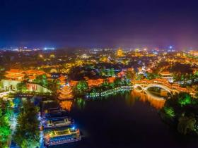 台儿庄古城迎来马来西亚旅行商考察团