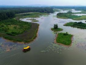 这个十一看这里:台儿庄新晋景区运河湿地—涛沟河风景区