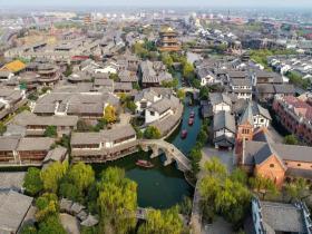 在台儿庄古城的古典时光里,寻一场诗意美梦!