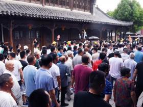 郑州千余人团队走进大战故地台儿庄,开启盛夏台儿庄水乡寻梦之旅