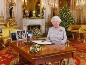 英国女王自称忙碌祖母 圣诞演讲呼吁团结