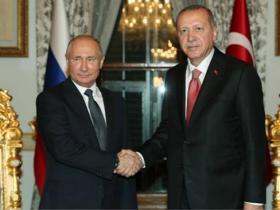 土总统称将与普京面谈叙利亚局势 俄方:没这安排
