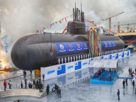 韩3000吨级潜艇完成初步设计 首次使用韩产锂电池
