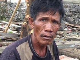 救母亲还是救妻子?印尼男子在海啸中作出悲伤抉择