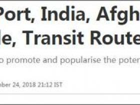 印度接管伊朗恰巴哈尔港业务 印媒:对抗瓜达尔港