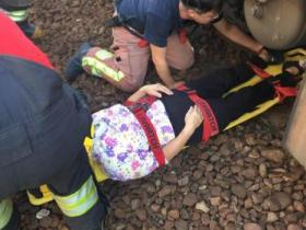 台铁4日上午发生2起事故 2名6旬老人1死1伤(图)