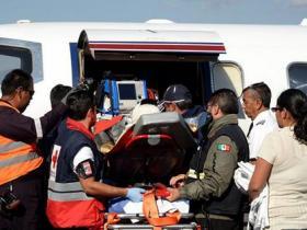 美国驻墨西哥大使馆建筑工地发生倒塌 致多人伤亡